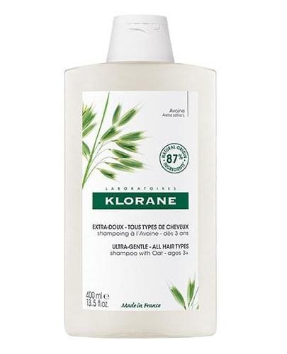 Klorane szampon na bazie mleczka z owsa 400 ml