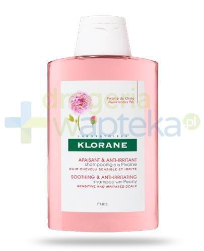 Klorane szampon na bazie wyciągu z piwonii 300 ml + 100 ml [GRATIS]