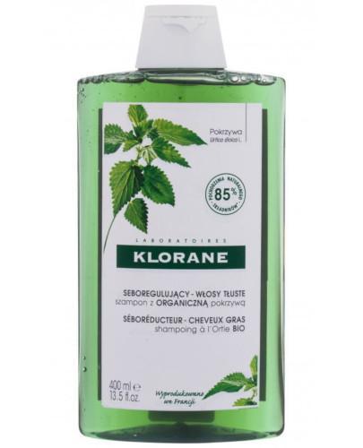 Klorane szampon z organiczną pokrzywą 400 ml