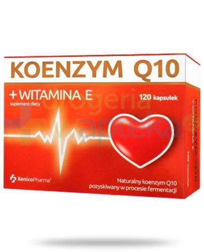 Koenzym Q10 + witamina E 120 kapsułek Xenico [Data ważności 30-09-2020]