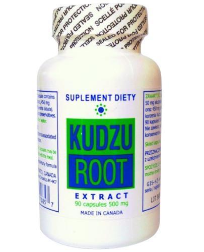 Kudzu Root (korzeń kudzu) 500 mg 90 kapsułek K&K Bio+