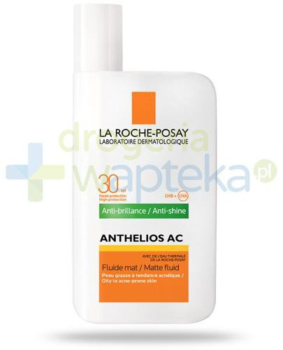 La Roche Anthelios AC Anti-Shine SPF30 fluid matujący do twarzy 50 ml