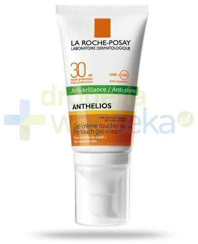 La Roche Anthelios Anti-Shine SPF30 suchy żel-krem do twarzy 50 ml  whited-out