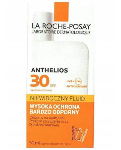 La Roche Posay Anthelios SPF30 niewidoczny fluid 50 ml
