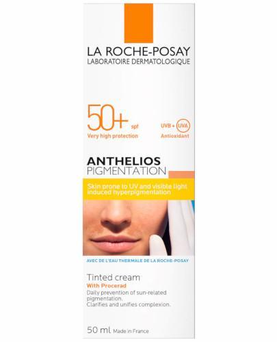 La Roche Posay Anthelios SPF50+ Pigmentation krem barwiący przeciw przebarwieniom 50 ml