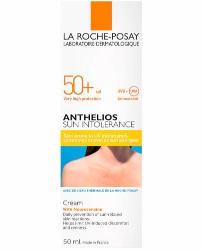 La Roche Posay Anthelios Sun Intolerance SPF50+ kojący krem z neurosensyną 50 ml