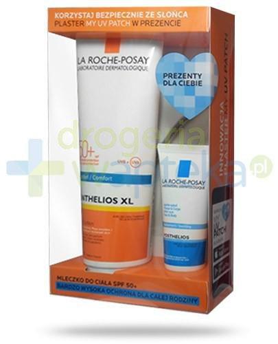 La Roche Anthelios XL mleczko do ciała SPF50+ 250 ml + Posthelios aksamitny żel nawilża...  whited-out