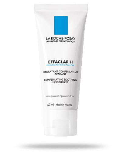 La Roche Effaclar H kojący krem nawilżający do skóry tłustej 40 ml + La Roche Effacla...