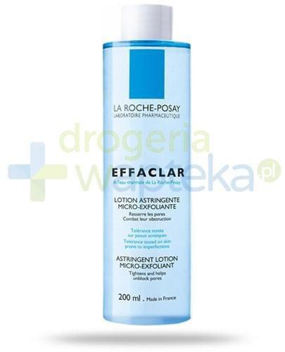 La Roche Effaclar mikrozłuszczający tonik zwężający pory skóry 200 ml
