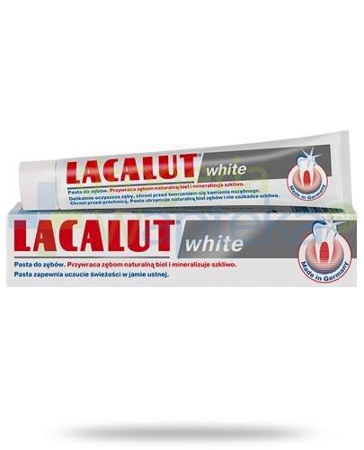 Lacalut White pasta do zębów przywracająca zębom naturalną biel 75 ml