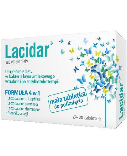 Lacidar 20 tabletek  whited-out