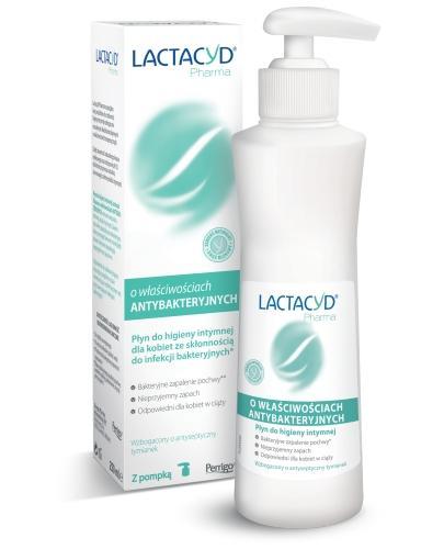 Lactacyd Pharma płyn ginekologiczny o właściwościach antybakteryjnych 250 ml