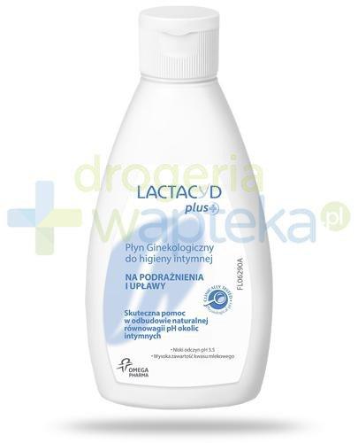 Lactacyd Plus+ płyn ginekologiczny do higiey intymnej na podrażnienia i upławy 200 ml
