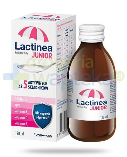 Lactinea Junior syrop na odporność 120 ml