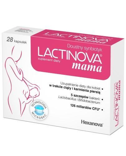 Lactinova mama 28 kapsułek
