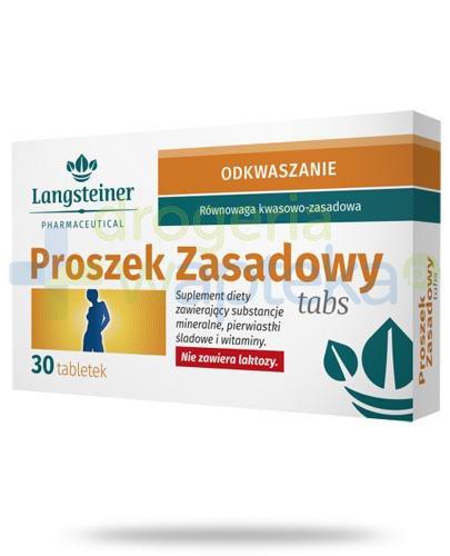 Langsteiner Odkwaszanie Proszek zasadowy Tabs 30 tabletek
