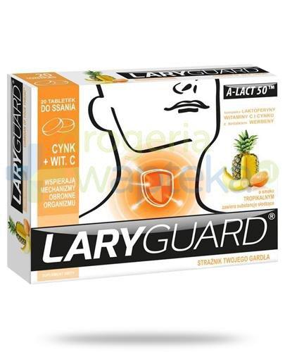 LaryGuard 20 tabletek do ssania
