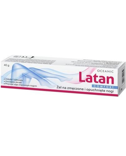 Latan Comfort żel na zmęczone i opuchnięte nogi 40 g