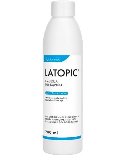 Latopic emulsja do kąpieli 200 ml