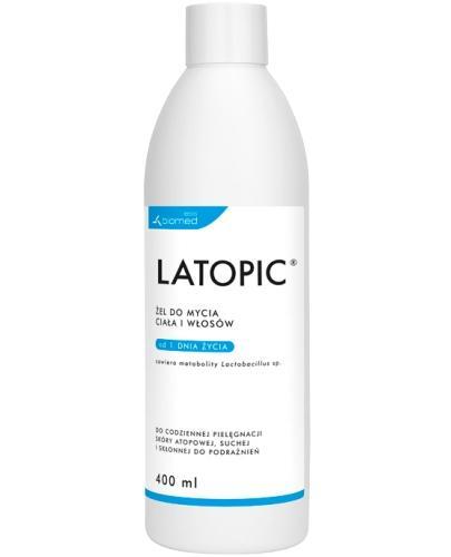 Latopic żel do mycia ciała i włosów 400 ml