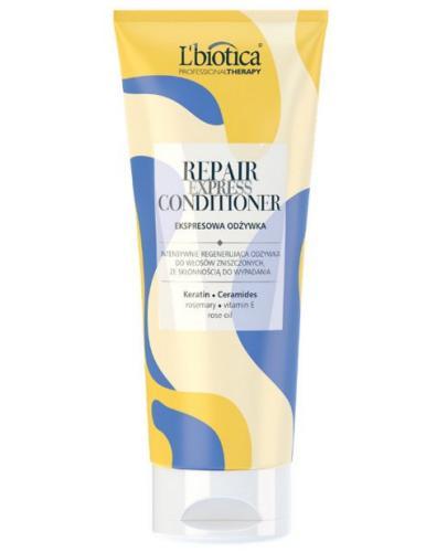 LBIOTICA EXPRESS Mask Repair Professional Therapy Odżywka włosy wypadające zniszczone 200ml