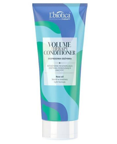 LBIOTICA EXPRESS Mask Volume Professional Therapy Odżywka do włosów dodająca objętości 200 ml