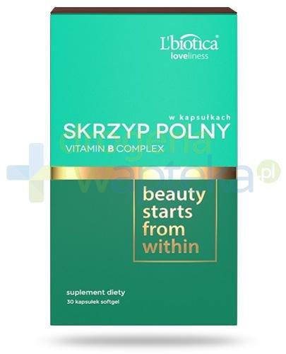 Lbiotica Loveliness Skrzyp polny + Vitamin B Complex 30 kapsułek