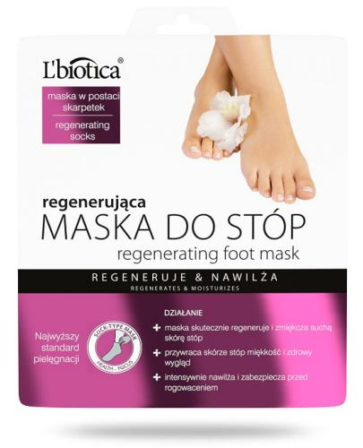 Lbiotica Maska do stóp regenerująca 32 ml