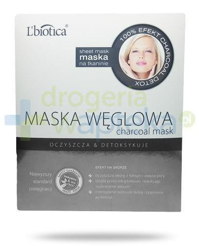 Lbiotica maska węglowa oczyszczająco detoksykująca 23 ml