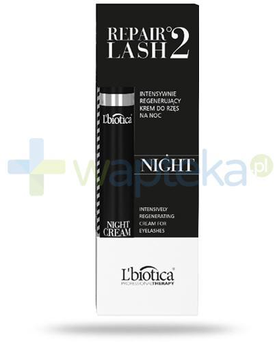 Lbiotica Repair Lash °2 intensywnie regenerujący krem do rzęs na noc 7 ml