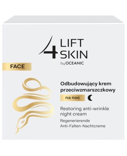 Lift 4 Skin odbudowujący krem przeciwzmarszczkowy na noc 50 ml