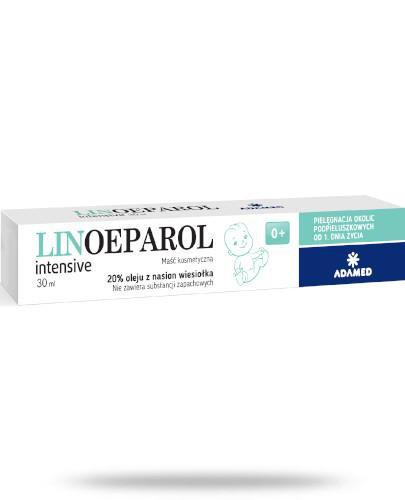 LinOeparol Intensive natłuszczająca maść kosmetyczna 30 ml