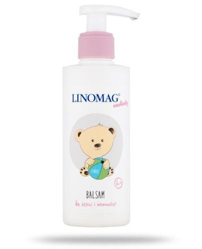 Linomag balsam do codziennej pielęgnacji skóry dzieci i niemowląt od 7-go miesiąca życia 200 ml