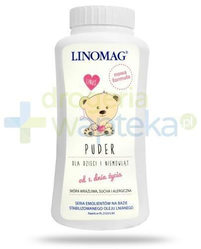 Linomag Puder na bazie oleju lnianego od 1-go dnia życia 100 g