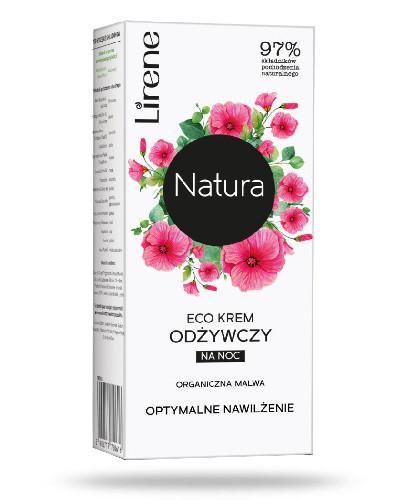 Lirene Eco krem odżywczy na noc 50 ml + Tonik nawilżający 200 ml
