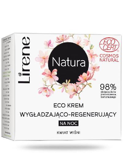 Lirene Eco krem wygładzająco-regenerujący na noc 50 ml + Balsam brązujący do ciał...