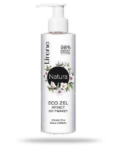 Lirene Eco żel myjący do twarzy organiczna biała herbata 150 ml