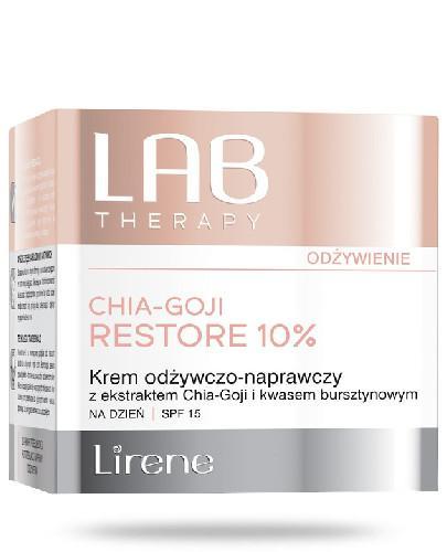 Lirene LAB Therapy Krem odżywczo-naprawczy z ekstraktem Chia-Goji na dzień SPF 15 50 ml