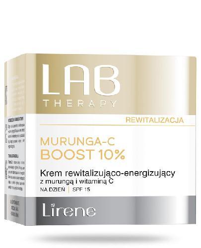 Lirene LAB Therapy krem rewitalizująco-energizujący na dzień SPF 15 50 ml + Balsam brą...