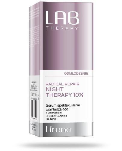 Lirene LAB Therapy Serum spektakularnie odmładzające z Ultrafillerem i FastLift Comple...