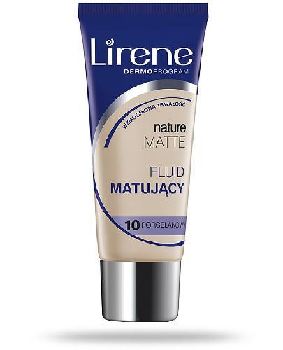 Lirene Nature Matte fluid matujący 10 porcelanowy 30 ml