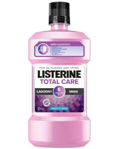 Listerine Total Care Zero płyn do płukania jamy ustnej 500 ml