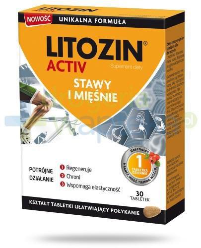 Litozin Active dla zdrowia stawów i mięśni 30 tabletek
