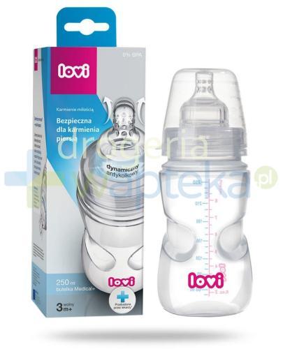 Lovi butelka medical+ 3 mc+ dynamiczny smoczek 250 ml [21/563]