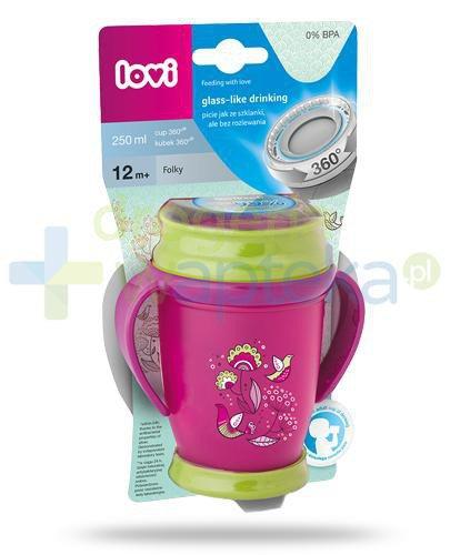 Lovi Folky 360°  kubek dla dzieci 12m+ 250 ml [1/554_new]