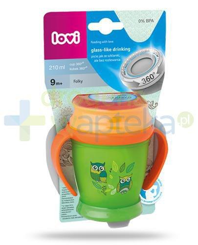 Lovi Folky 360°  kubek dla dzieci 9m+ 210 ml [1/523_new]