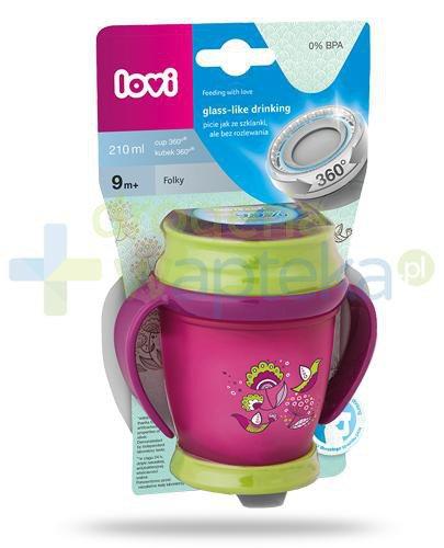 Lovi Folky 360°  kubek dla dzieci 9m+ 210 ml [1/534_new]