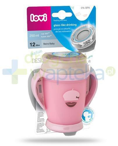 Lovi Retro Baby 360°  kubek dla dzieci 12m+ 250 ml [1/589_new]