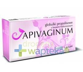 Apivaginum globulki dopochwowe z kwasem hialuronowym i propolisem 5 sztuk  whited-out