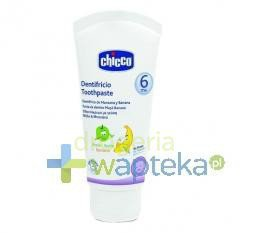 Chicco Pasta do zębów 50ml 6m+ jabłkowo-bananowa